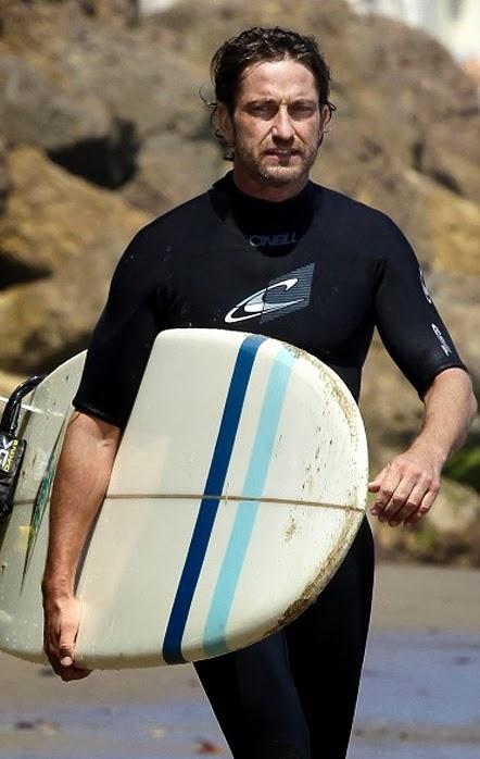 Gerard Butler se pregăteşte pentru rolul său din remake-ul Point Break