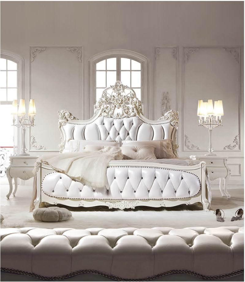غرف نوم كلاسيكية فرنسية | ديكور بلس