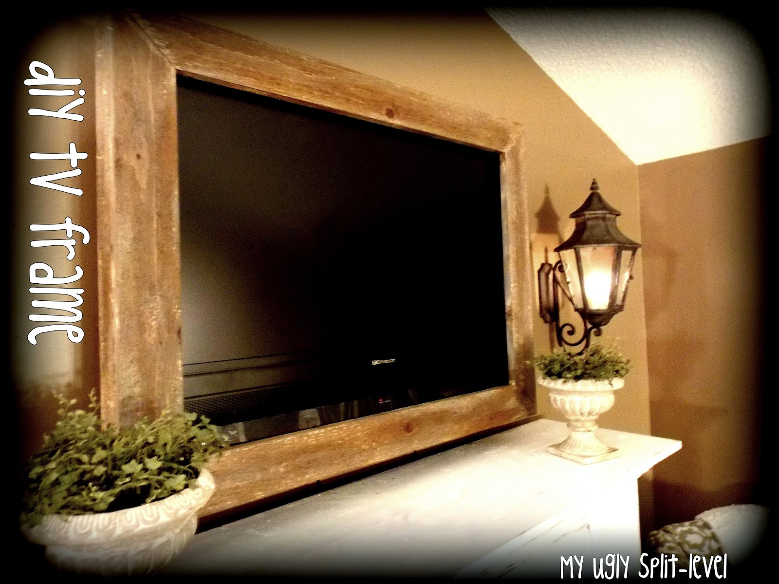 Image of wood photo frames diy barn
