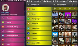 BBM MOD DISCO APK V3.2.2.8 [BBM Kelap Kelip]