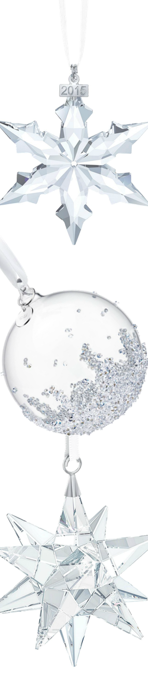 Swarovski Assorted Crystal Ornaments