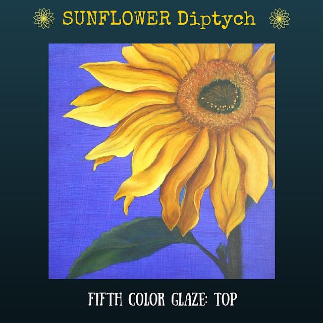 Fifth color glaze TOP Sunflower