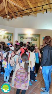 Επίσκεψη του 6ου Δημοτικού σχολείου Πρέβεζας στο Κέντρο Πληροφόρησης Αμμουδιάς