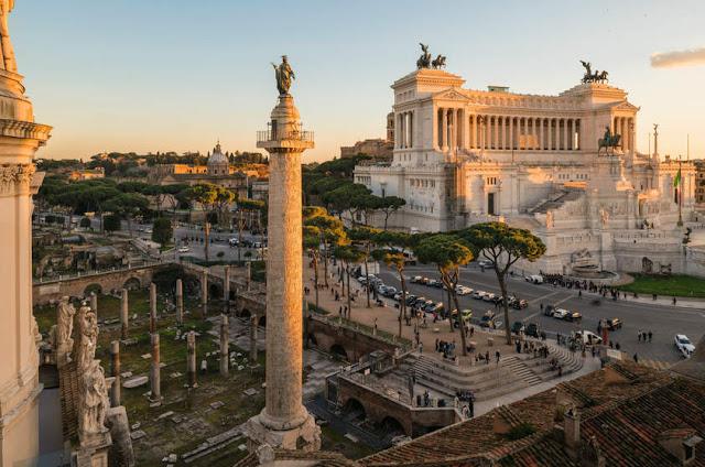 Coluna de Trajano em Roma