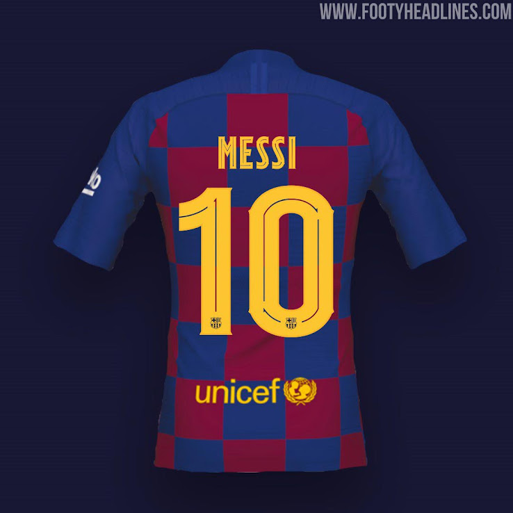 Best Of - New 19-20 Kit Fonts: Arsenal, Barcelona, Real