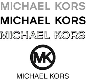 O logotipo da marca pode ser aplicado de várias formas (como mostra a  imagem abaixo), incluindo as tradicionais iniciais MK (dentro de um  círculo), ... 3d41032b97