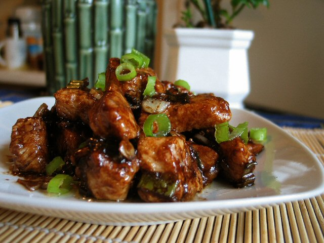 Angie S Recipes Taste Of Home Braised Diced Chicken Breast With Balsamic Vinegar