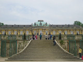 Sanssouci Castle  Potsdam Berlin Germany Travel