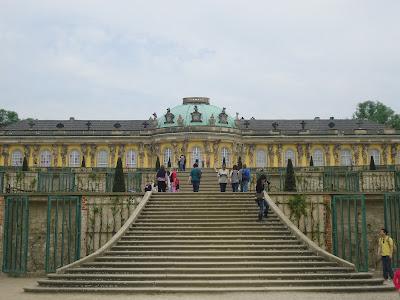 Sanssouci Castle  Potsdam Berlin Germany Travel