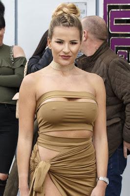 Georgia Kousoulou hot dress tidak pakai BRA