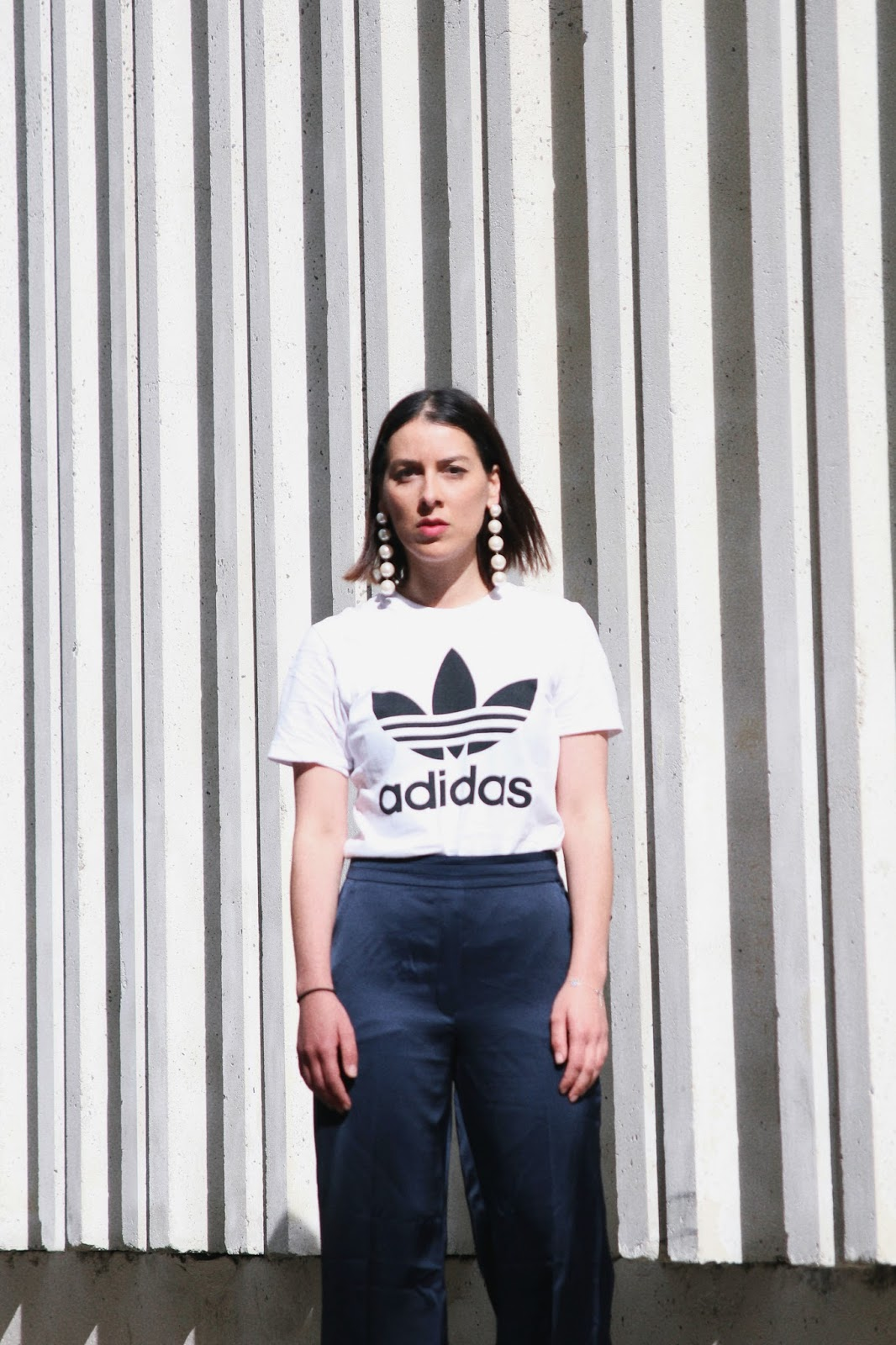 t-shirt-adidas-pantalon-large-idée-de-look