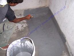 waterproofing coating semen untuk menghindari bocor pada toilet