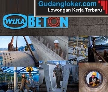 Lowongan Kerja BUMN Wijaya Karya Beton