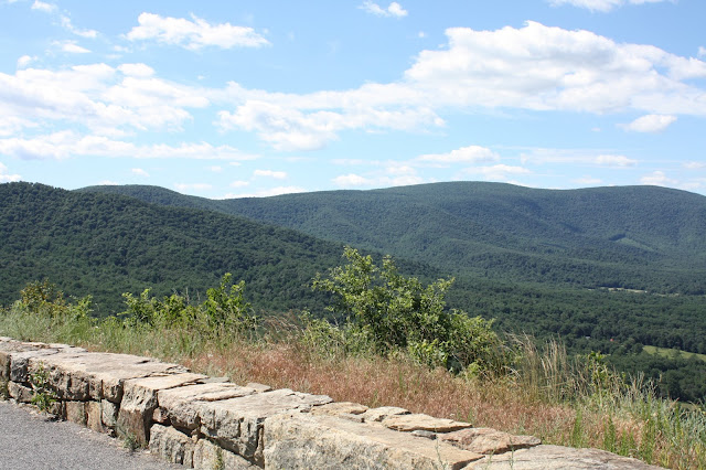 View of Shenandoah from Skyline Drive
