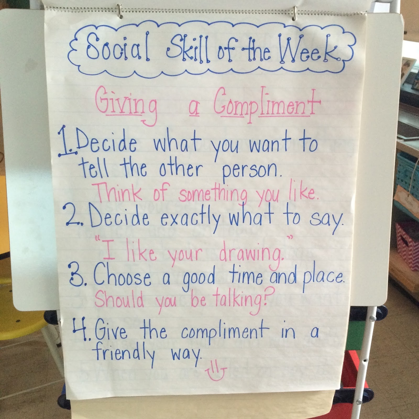 Teaching Social Skills In An Elementary Class