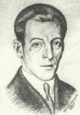 Dibujo de Volney publicado en Portugalete en el recuerdo: Los Conde-Pelayo