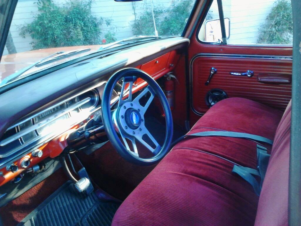 Awesome 1967 F100 Fixing The Seat Evergreenethics Interior Chair Design Evergreenethicsorg