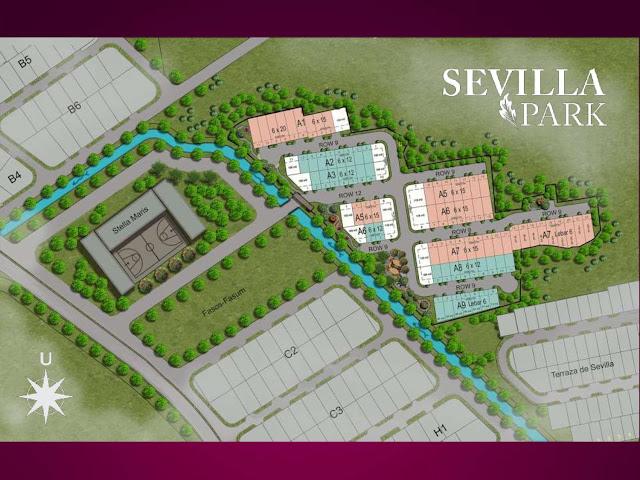 Lokasi Sevilla Park BSD