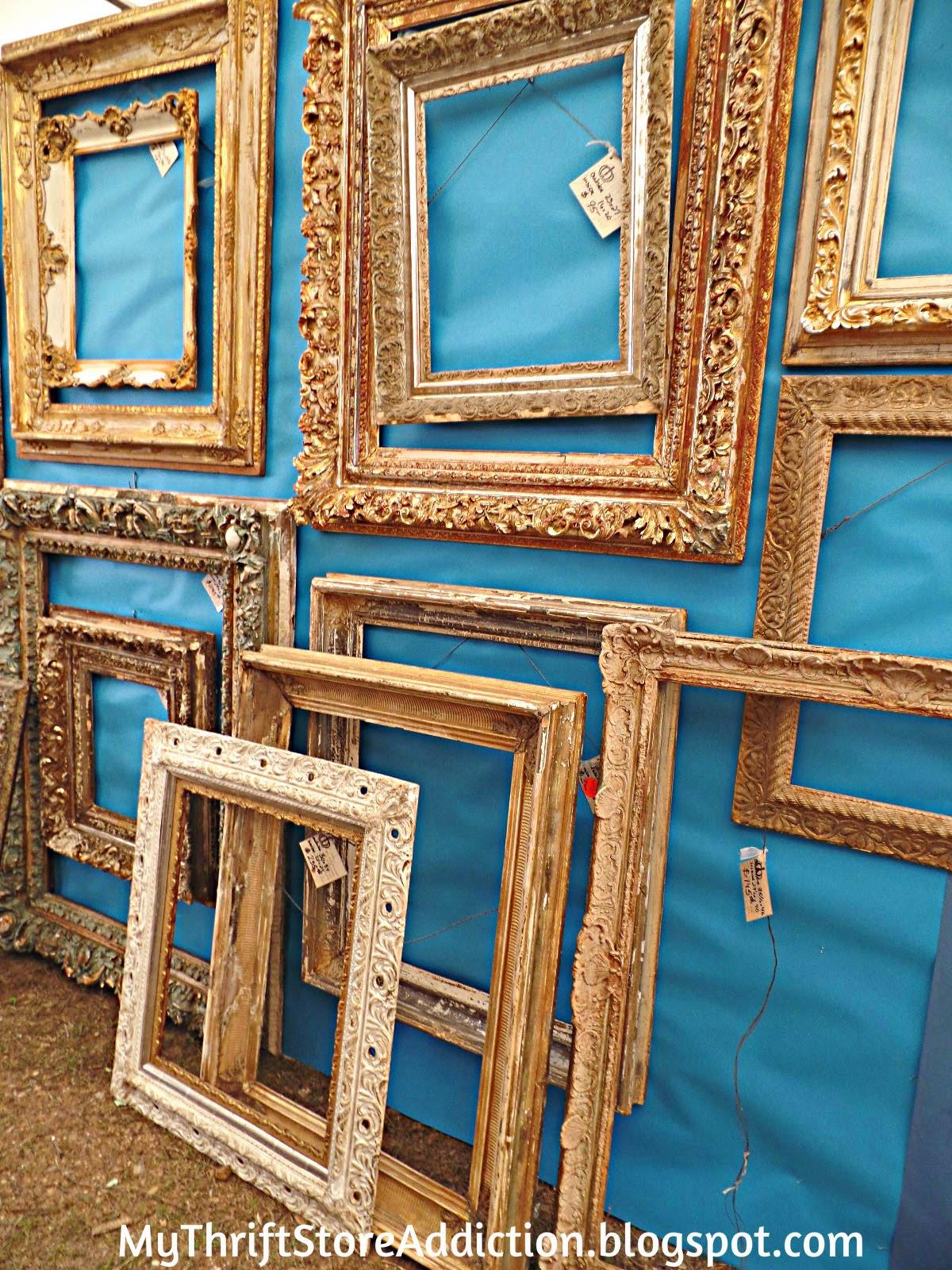 Antique gilded frames