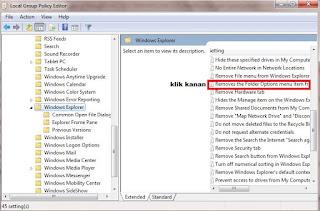 Cara mengembalikan folder option yang terhidden atau hilang