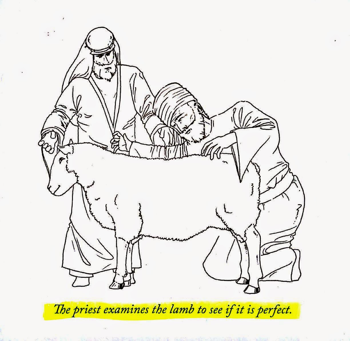 JOSEPH PRINCE'S ANIMATION OF THE LAMB OF GOD BEING SLAUGHTERED !