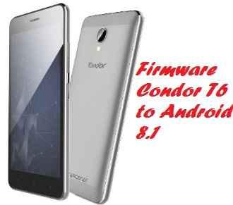 تفليش، وتحديث ،جهاز، كوندور  ،Firmware، Update، Condor، GRIFFE، T6، to، Android، 8.1