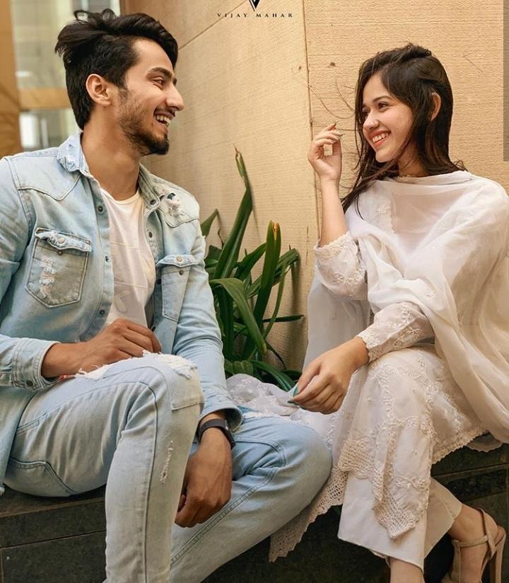 jannat zubair with faisal khan