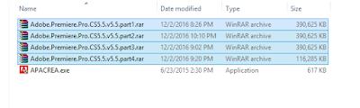 Menggabungkan File WinRAR Menjadi Satu