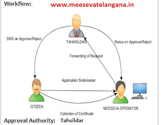 Agricultural Income Certificate Application Apply in Meeseva Centers