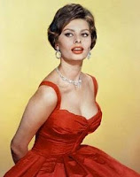 Gail Carriger in New Orleans in a Red Dress