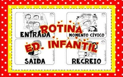 Rotina Educacao Infantil