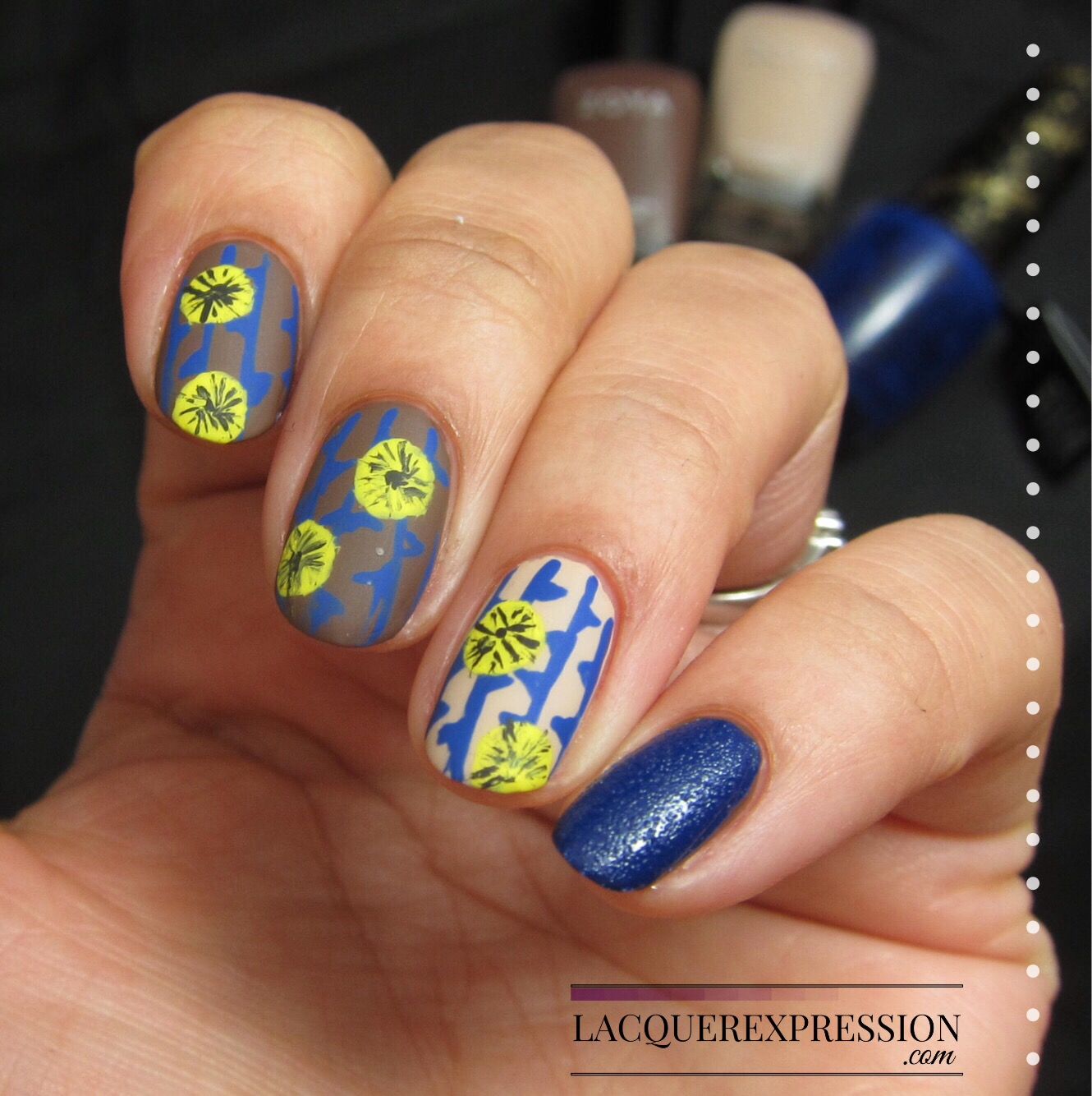 January 2017 lacquerexpression in this edition of step by step nail art thursday i walk you through an easy hand painted floral design that can be easily replicated by most of you with prinsesfo Choice Image