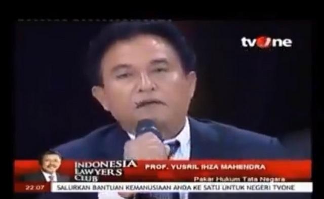 """Pasca Jadi Pengacara Jokowi-Maruf, Viral Video Lawas Yusril Sebut """"Presiden Goblok"""""""