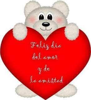 San Valentín ositos tiernos