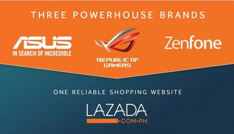 ASUS Launches 3 Official Concept Stores in Lazada