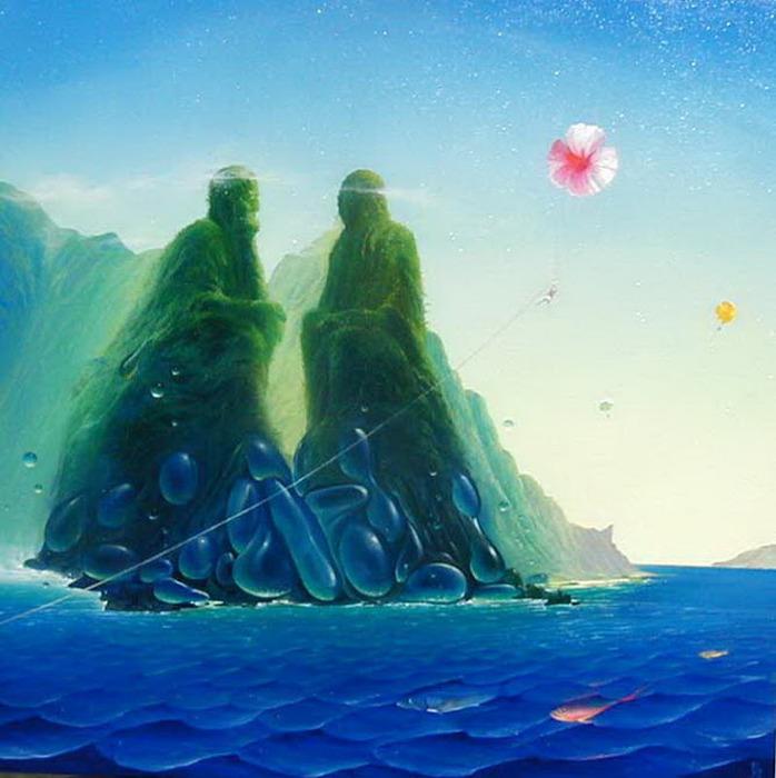 Victor Bregeda 1963 | Russian Surrealist painter