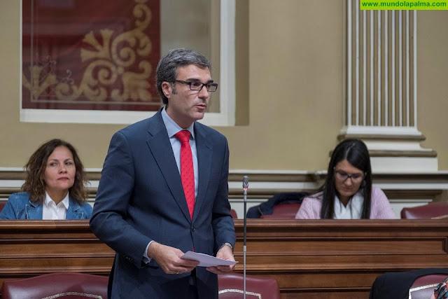 """Gómez (Zacarías): """"El Gobierno de Canarias y el Cabildo de La Palma deben terminar con la discriminación del precio del combustible que sufre la isla"""""""