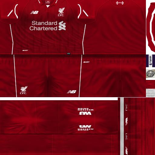 d8cc37ca9c6 PES 6 Kits Liverpool FC Season 2018/2019 by FacaA/Ngel - PES 6 ...