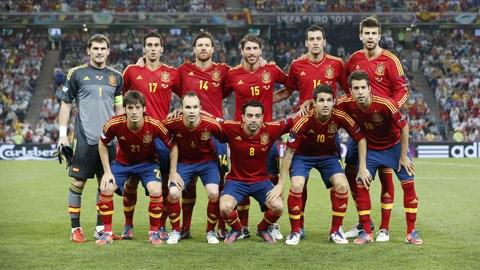 Raul Albiol trong màu áo tuyển Tây Ban Nha