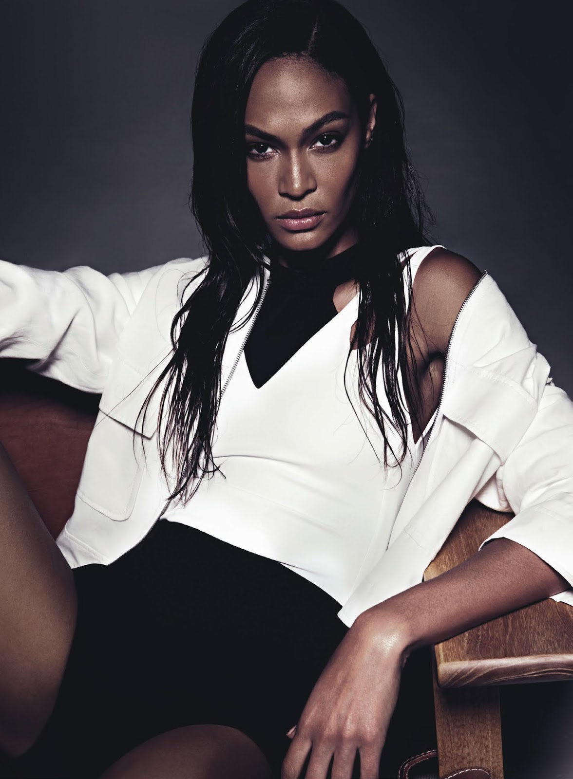 Joan Smalls At Topshop Fashion Show At London Fashion Week: Joan Smalls By Todd Barry For Sunday Style August 2015