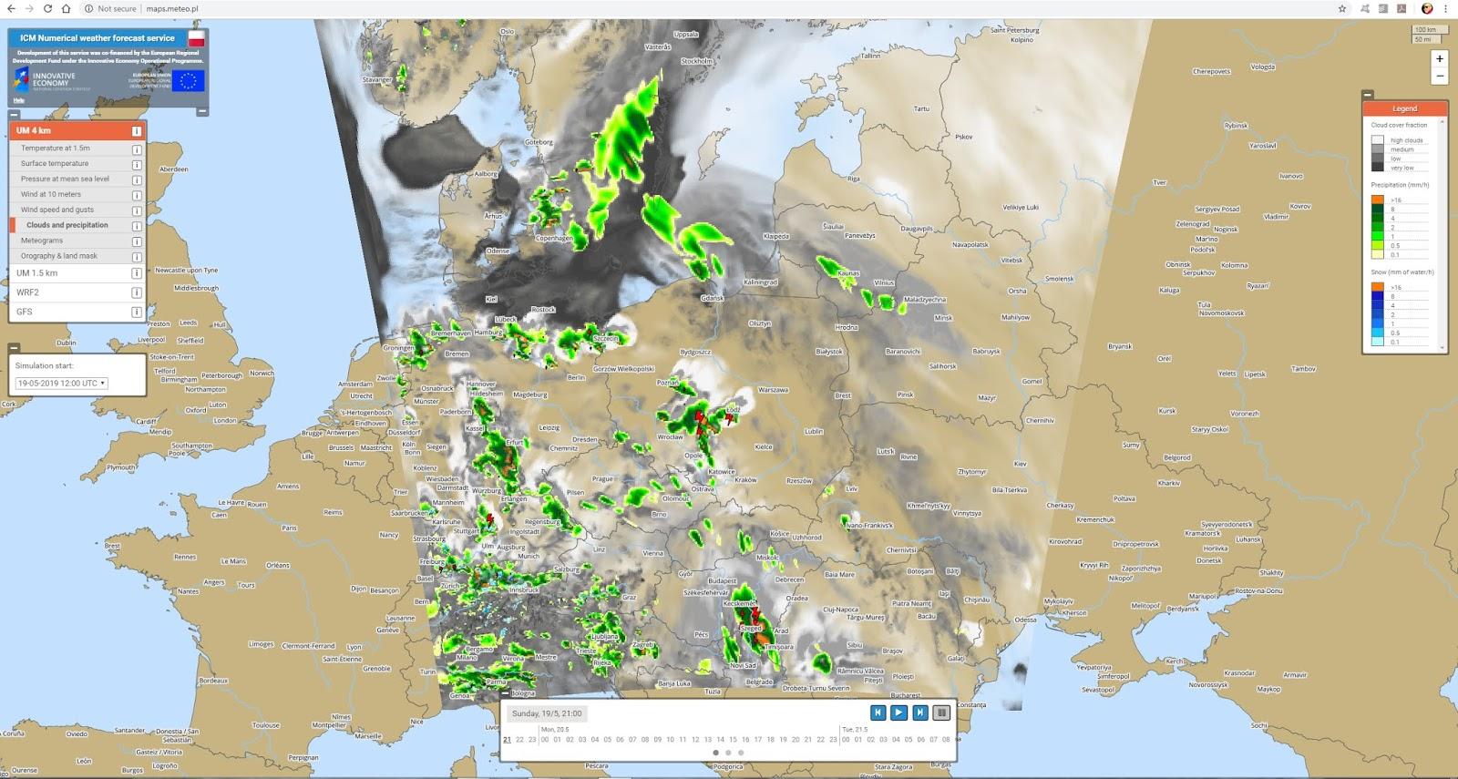 W-wa Jeziorki: The Day the Forecasters got it Wrong