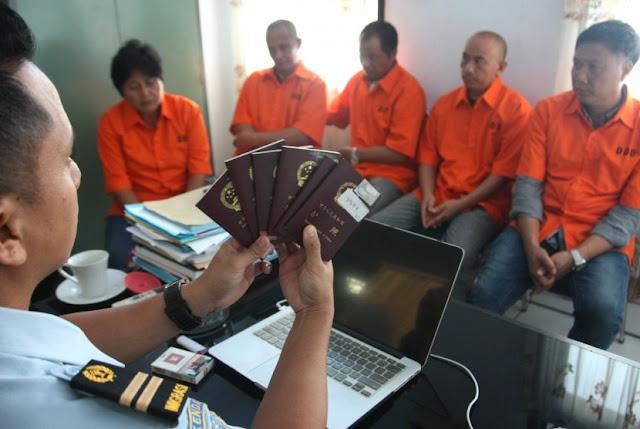 Imigrasi Pergoki WN Cina Bekerja di Tambang Nabire