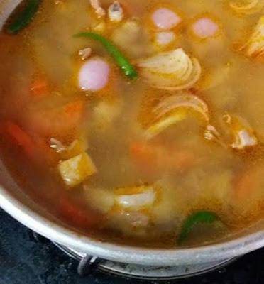 Resepi Ringkas Buat Tom Yam Pes Homemade
