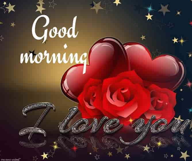 beautiful good morning images with i love you
