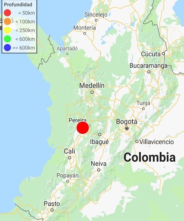 Ahora: Terremoto sacude Cali, Valle del Cauca en Colombia!!!!