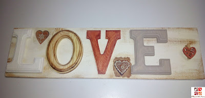 cartel love para San Valentín