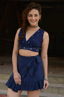 Seerat Kapoor Stunning Cute Beauty in Mini Skirt  Polka Dop Choli Top ~  Exclusive Galleries 056.jpg