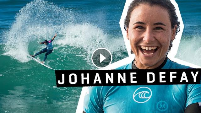 Johanne Defay Hossegor SOUND WAVES