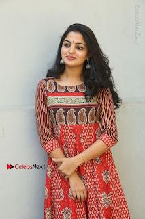 Telugu Actress Nikhila Vimal Latest Stills in Anarkali Dress  0085.JPG