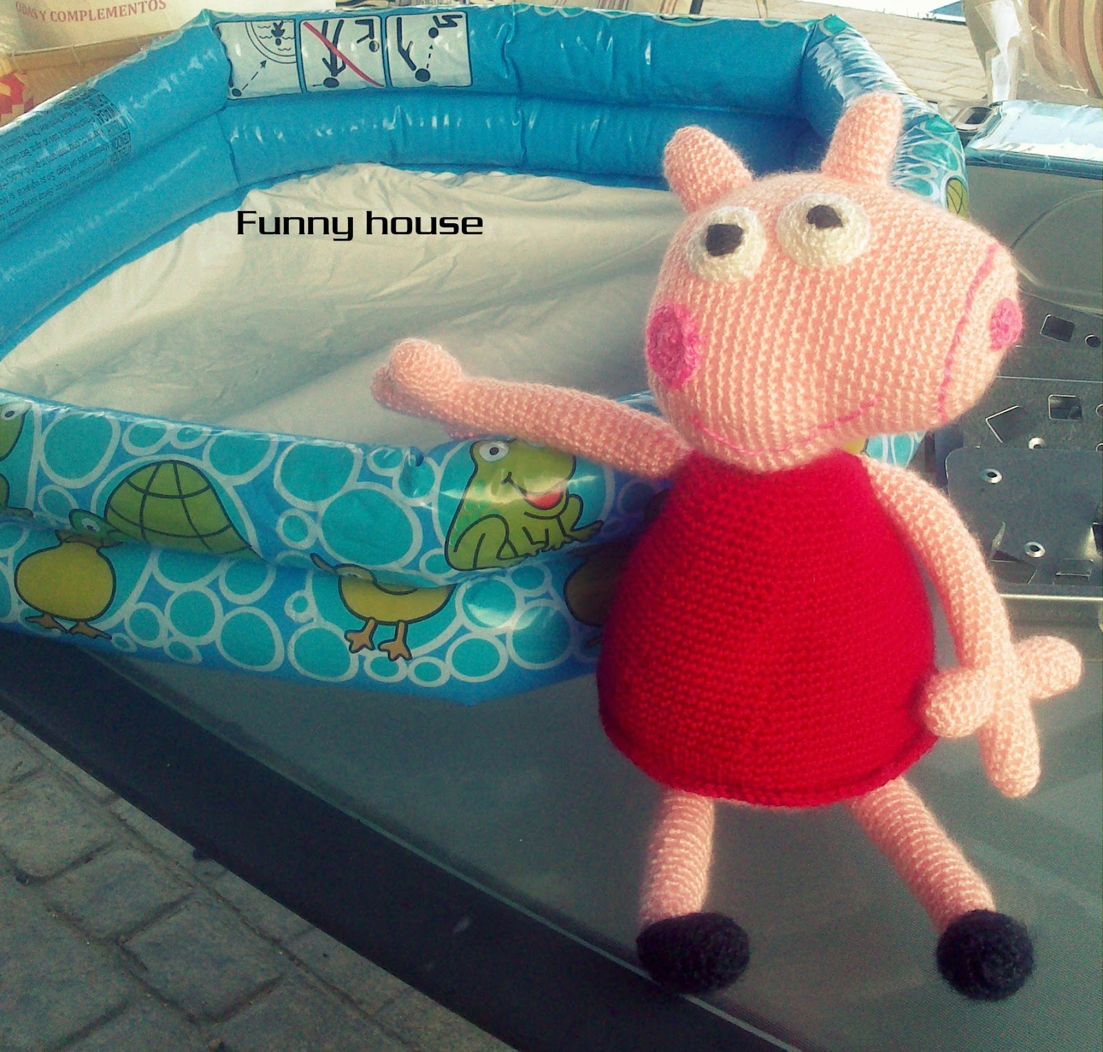 Peppa Piscina Funny House Peppa Pig